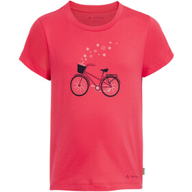 VAUDE Lezza T-Shirt Enfant, bright pink/cranberry